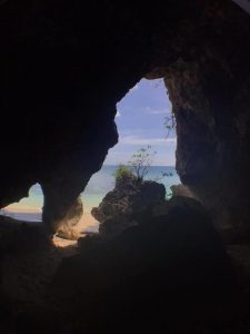 Cave at Fred's Beach.
